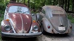 1955 Barn Find & Yard Find Vw Beetle Update