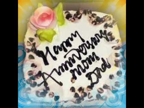 Happy marriage anniversary mummy papa cake images