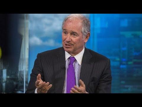 Blackstone's Schwarzman on Economic Recovery, Banking Industry