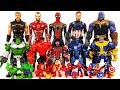Marvel Avengers Mashers Spider Knight, Stealth Iron man vs Hela, Red Hulk, Venom Battle Toys Play