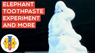 Elephant Explosion Experiment & More | Science Experiments You Can Do at Home | Lab 360