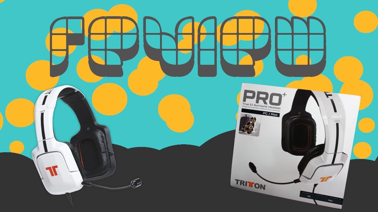 cc05a033e34 TRITTON PRO+ True 5 1 Surround Headset Review - YouTube
