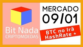 Mercado de Cripto! 09/01 Crise no Irã e o Bitcoin / Força computacional / Bitcoin no Satélite