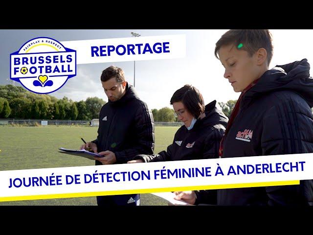Journée de détection féminine au Vogelenzang d'Anderlecht