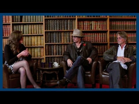 Johnny Depp and Bruce Robinson | Interview | Oxford Union