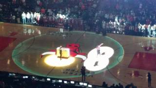 Lupe Fiasco half time show at the Bulls vs Warriors.mp4