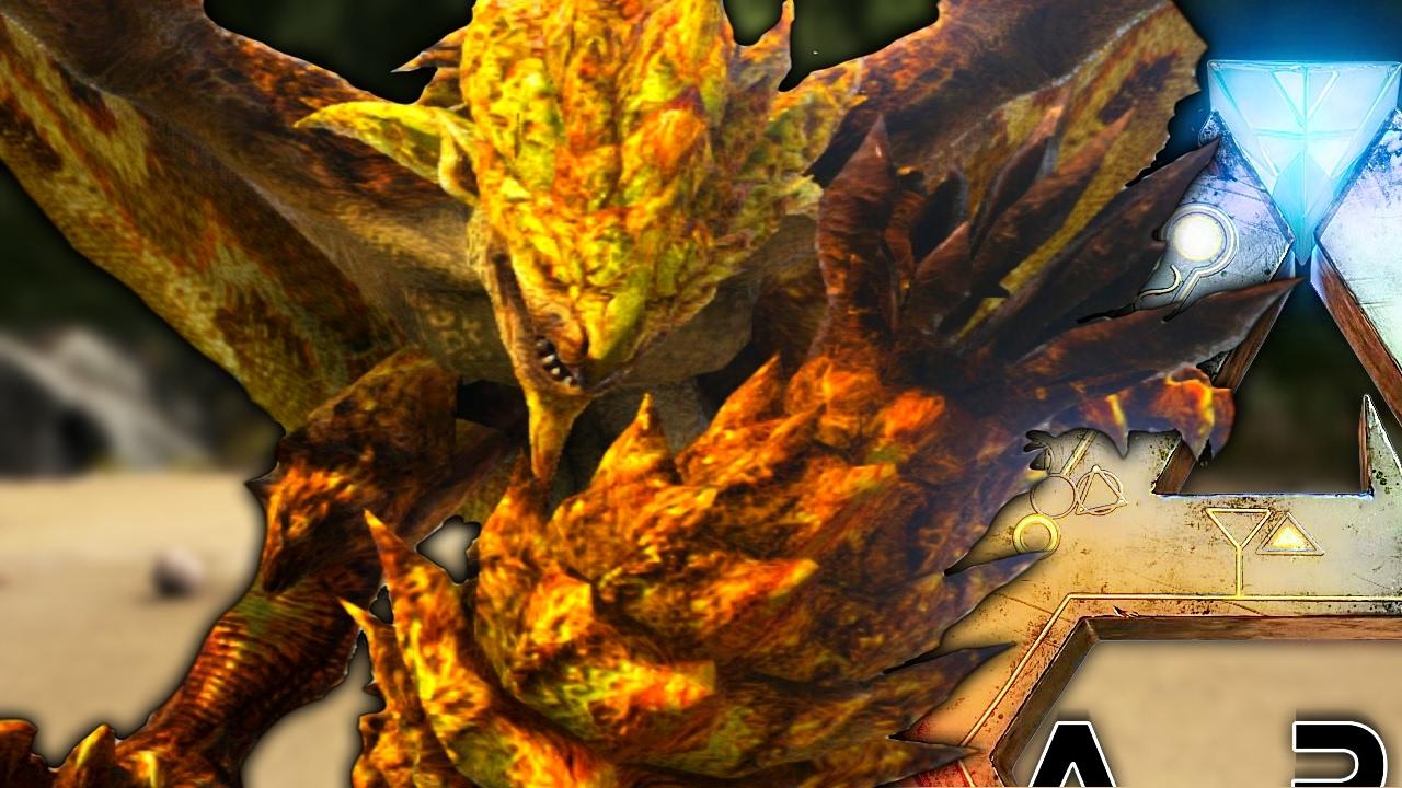 Ark Survival Evolved Monster Hunter Mod Update New