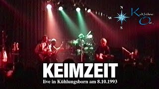 Keimzeit - LIVE 1993 (Kühlungsborn, Germany) FULL SHOW - HQ Audio