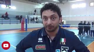 03-04-2018: #fipavpuglia - Il tecnico della nazionale femminile Mazzanti in Puglia