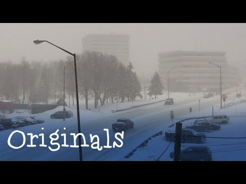 Timelapse: Severe snowstorm in Sudbury March 1