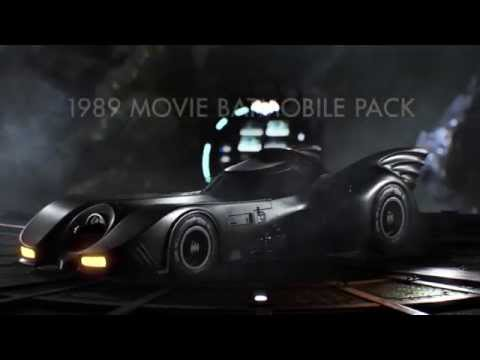 Official Batman: Arkham Knight August Update Trailer – featuring 1989 Batman Movie Batmobile Pack