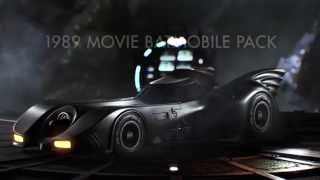 Official Batman: Arkham Knight August Update Trailer – featuring 1989 Batman Movie Batmobile Pack