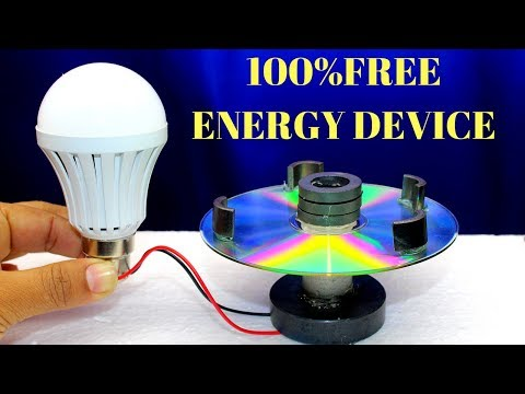 100% Free Energy Device Using Magnet and CD Flat - Free Energy Generator Device with Magnet