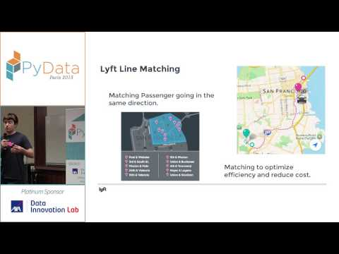 PyData 2015 - Using Python and Data science to tackle real-time transportation problems at Lyft