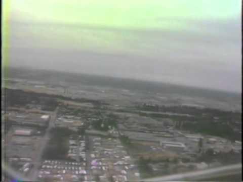 Delta L-1011 Take Off Seattle Tacoma 1985