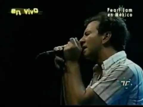 Pearl Jam Live in Mexico July 19, 2003