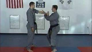 Hapkido - Basic Wrist Grab - Arm Bar Defense - Part 2