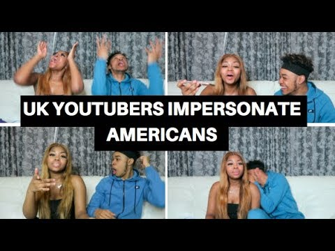 UK YOUTUBERS IMPERSONATE AMERICAN CELEBS! DDG, ZIAS, RICH THE KID, FLIGHTREACTS ETC (WITH BLOOPERS)