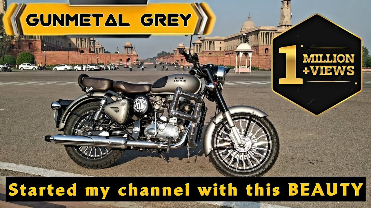 The Best Royal Enfield Gunmetal Grey Modification And