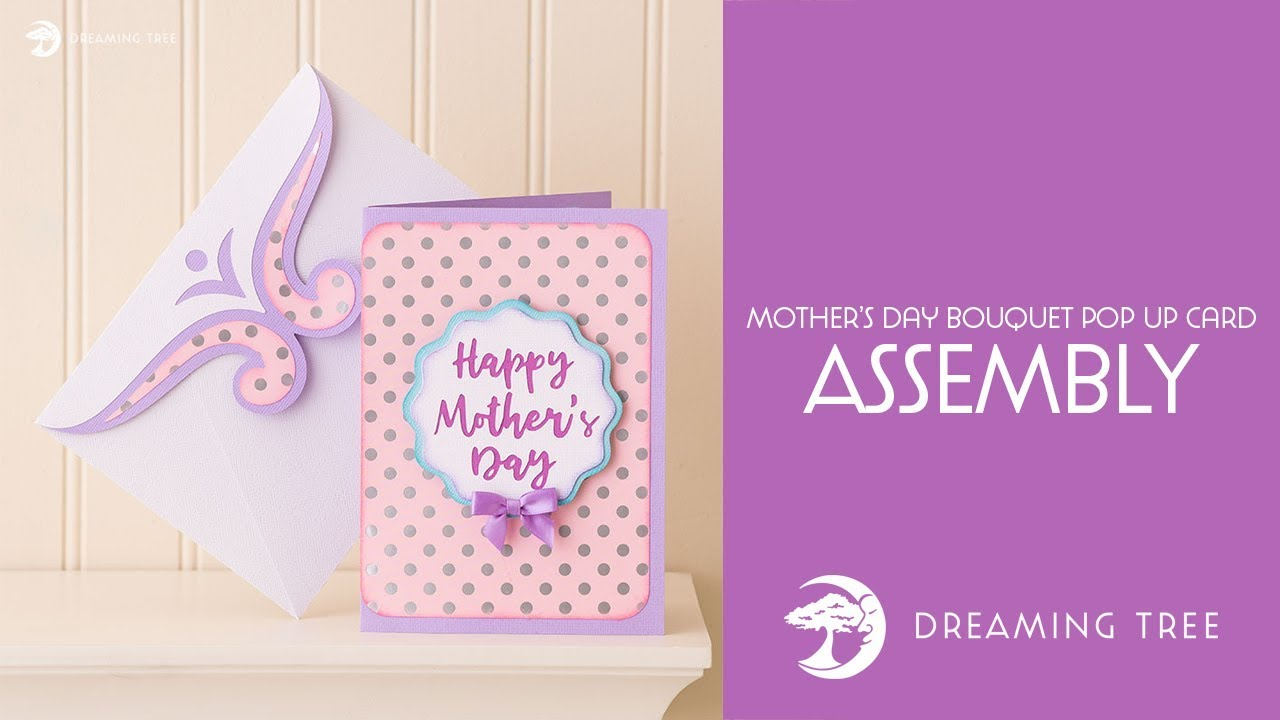 Free Making a special happy mother's day card for a very important woman in your life can seem daunting, but shutterfly makes it easy for everyone. Svg File Mother S Day Bouquet Pop Up Card Assembly Tutorial Youtube SVG, PNG, EPS, DXF File