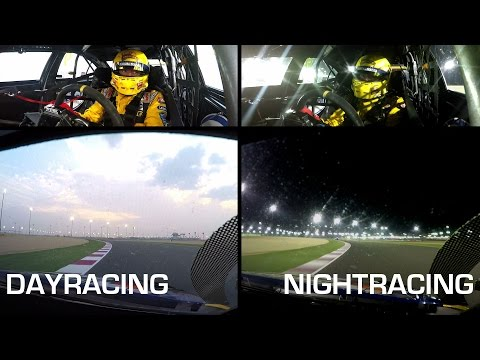 Day versus nightracing; the difference in Qatar with an onboard lap of Tom Coronel WTCC 2016