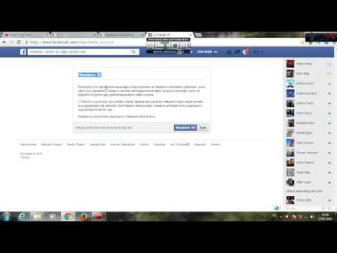 Facebook Hesap Nasıl Silinir