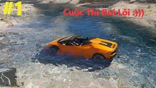 GTA 5 #1 Siêu Xe Lamborghini Huracan Mui Trần Siêu Hiếm Tham Gia Cuộc Thi Bơi Lội Và Cái Kết Đen ...