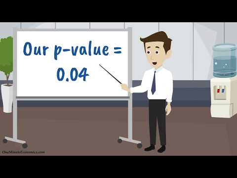 Statistical Significance, the Null Hypothesis and P-Values Defined & Explained in One Minute