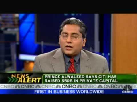 Syndicated Loans interview - Anurag Gupta - CNBC Squawk Box, Nov 20, 2008