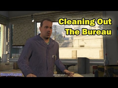 Cleaning Out The Bureau | GTA V Story Mode Indonesia - part 141