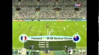 France - Nouvelle-Zélande 2003 résumé