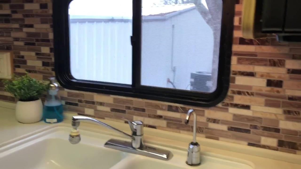 L And Stick Backsplash Rv Kitchen