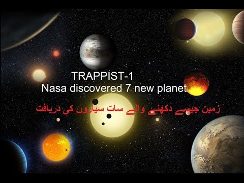NASA discovered 7 Earth-like planet in Urdu/Hindi - YouTube