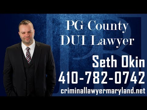 Prince George's County DUI lawyer Seth Okin talks about driving under the influence in Maryland.