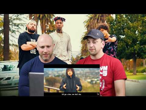 2 BRITISH GUYS React to Deji x Jallow x Dax x Crypt - Unforgivable (KSI DISS TRACK) Official Video