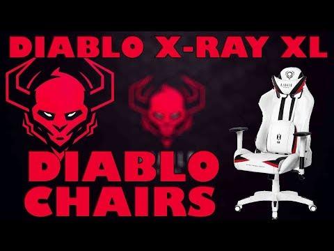 NOVÁ HERNÍ ŽIDLE DIABLO X-RAY XL! UNBOXING+SESTAVENÍ!
