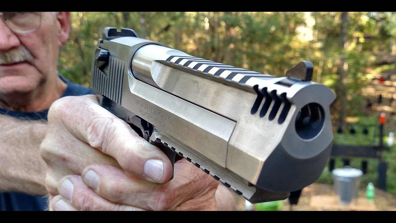 Desert Eagle 50: How Powerful is it Really?