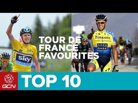 Top 10 Yellow Jersey Contenders | Tour De France 2014