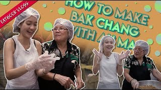 Making Bak Chang With My Famous Ah Ma's Michelin Bib Gourmand Recipe | Eatbook Vlogs | Ep 65