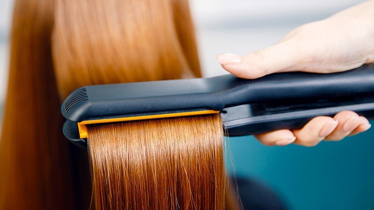 Mengurangi Kerusakan Rambut karena Catokan Pelurus Rambut