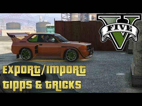 GTA 5 Import/Export Tipps und Tricks  [With English subtitle]