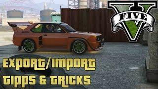 GTA 5 Import/Export Tipps und Tricks