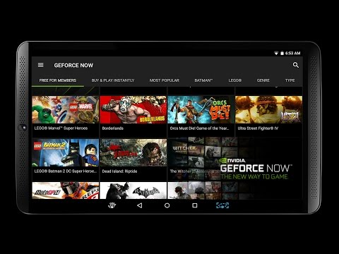 Nvidia Geforce Now on Shield Tablet - Streaming Game 2017 WIFI - Argentina - Latinoamerica - Español
