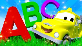 ABC's Nursery Rhymes Songs for Children with Trucks of Car City !