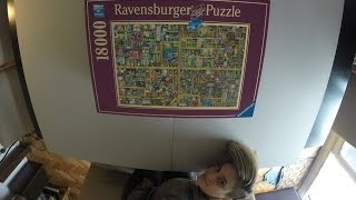 Magical Bookcase - 18000 pc puzzle by Ravensburger - Part 1