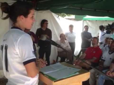 Mónica González habla de su experiencia en #JóvenesporelDeporte