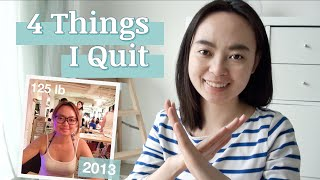"4 ""Essentials"" I Quit – for Weight Loss, Clear Skin, Productivity, Save Money (ft. Caira Button)"