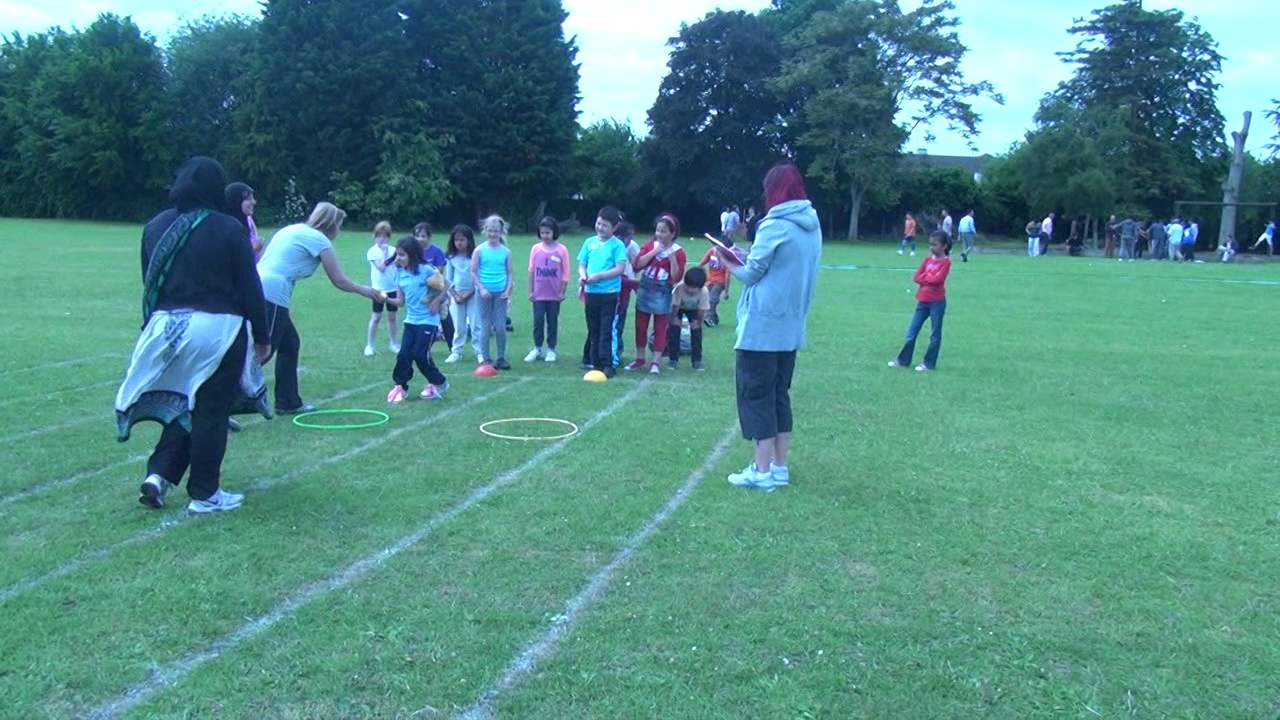 Sports Day 2013 (1/4) - Outdoor Games - YouTube