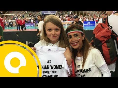 Irańska aktywistka wyrzucona z meczu Polska-Iran | OnetNews