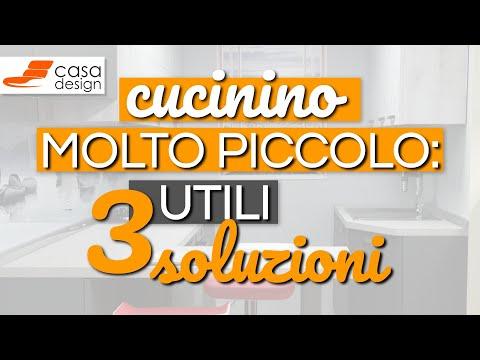 Cucinino piccolo: 3 utili soluzioni